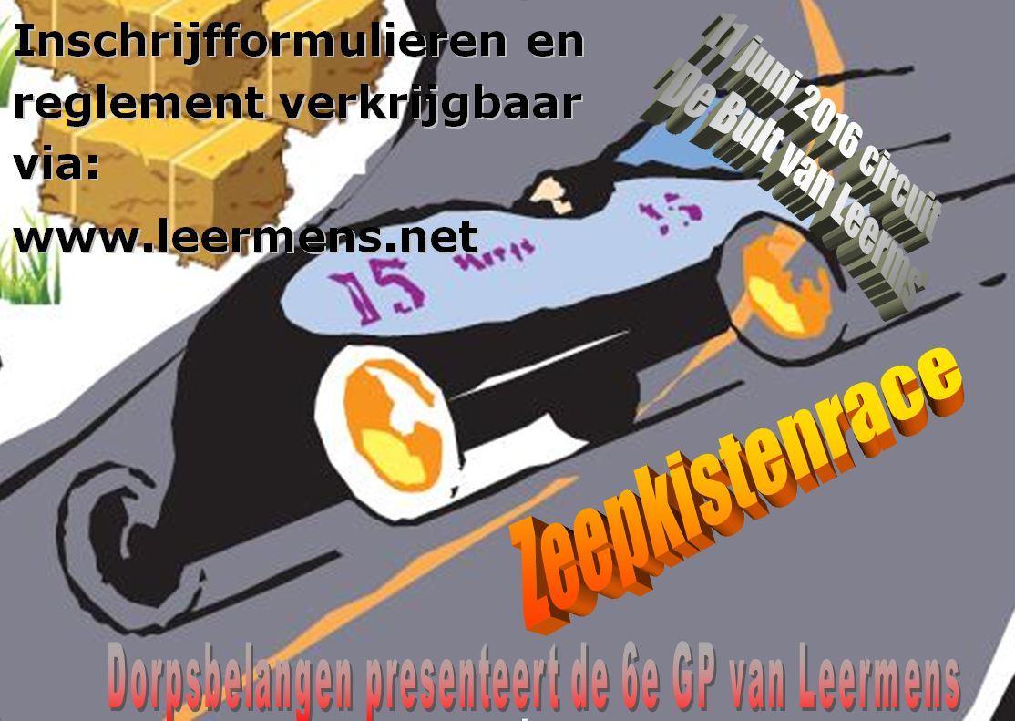 Poster zeepkistenrace